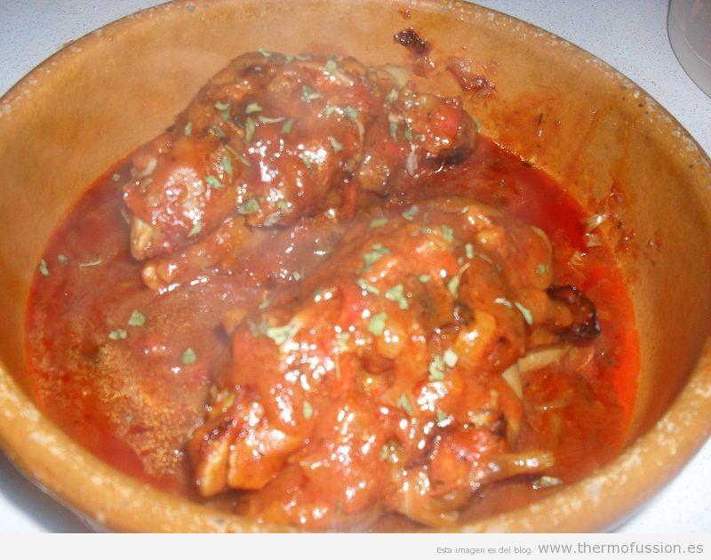 Manitas de cerdo en salsa fussioncook toucha advance o for Como cocinar jabali arguinano