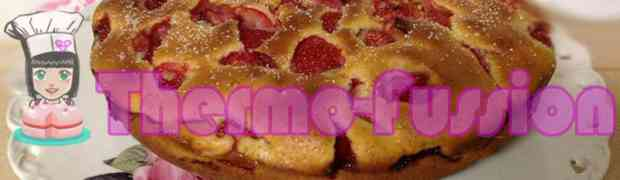 BIZCOCHO DE FRESAS THERMOMIX TM31 O KITCHENHAID