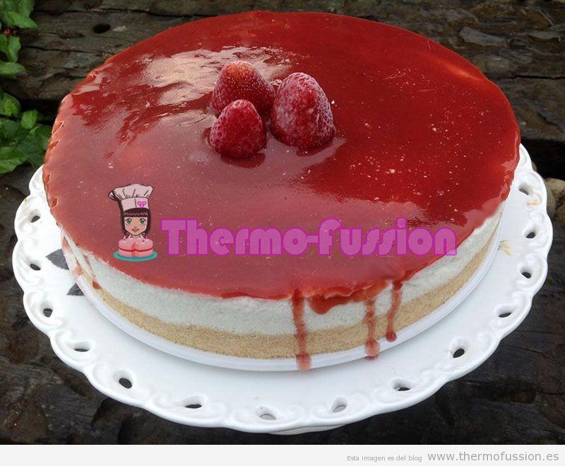 Tarta Mousse De Yogurt Y Queso Sin Azucar Para Diabeticos