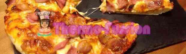 PIZZA DOMINÓS O PIZZA HUT THERMOMIX TM31  Y FUSSIONCOOK