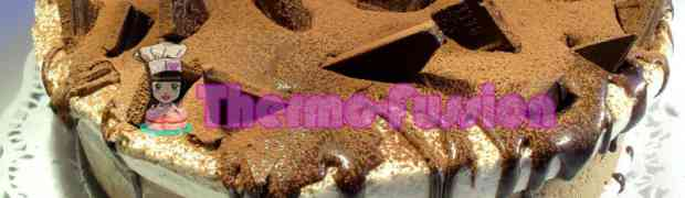 TARTA MOUSSE DE CHOCOLATE Y CREMA DE VAINILLA THERMOMIX TM31
