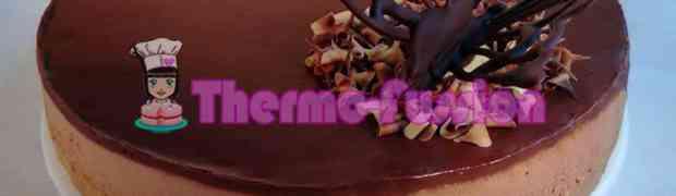 TARTA MOUSSE DE CHOCOLATE FÁCIL THERMOMIX