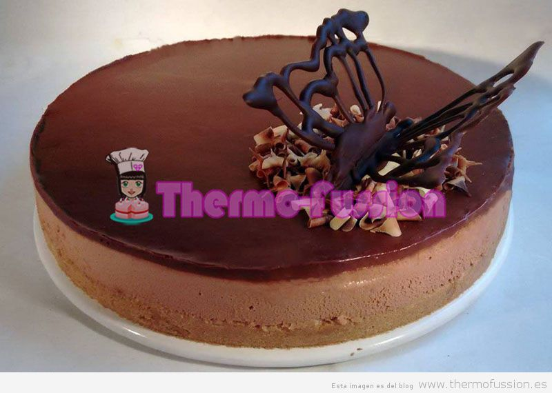 Tarta Mousse De Chocolate F 193 Cil Thermomix Thermo Fussion